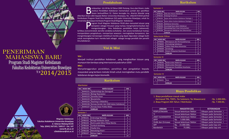BROSUR MABA S2 KEB 2014 1