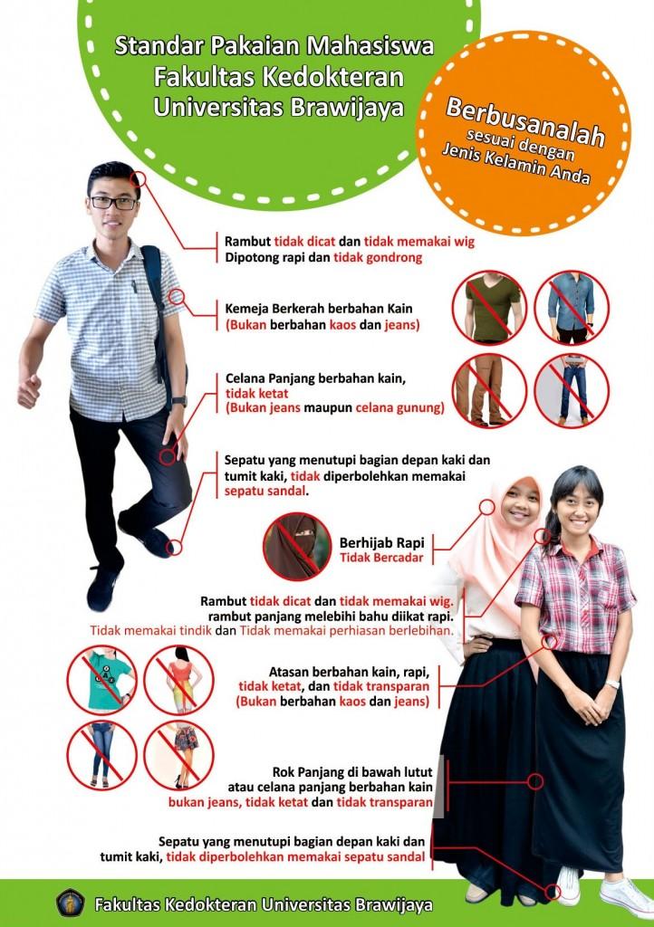 standart pakaian mahasiswa FKUB