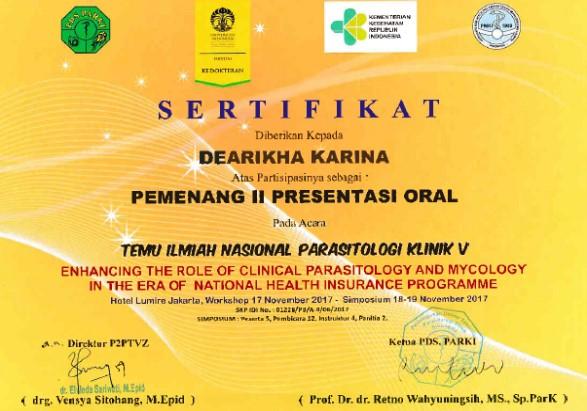 Presentasi Oral dr. DEARIKHA 1