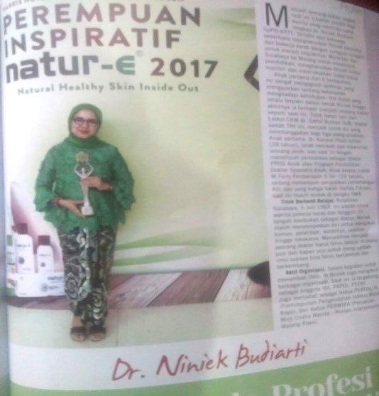 dr. Niniek Budiarti, SpPD, K-PTI perempuan inspiratif
