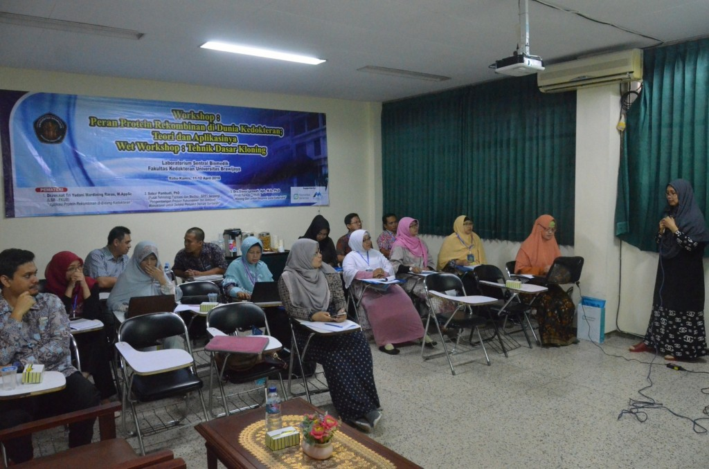 workshop lab biomedik