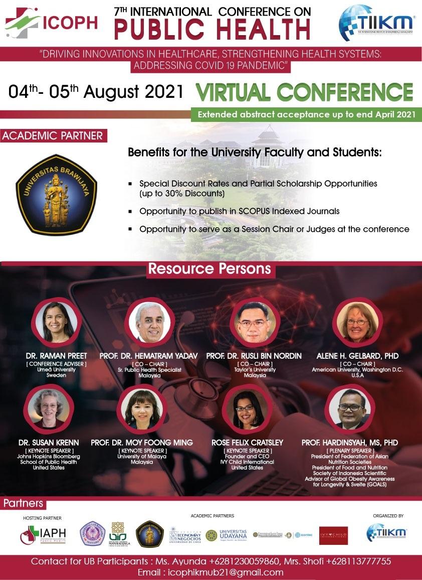 konferensi internasional ICOPH